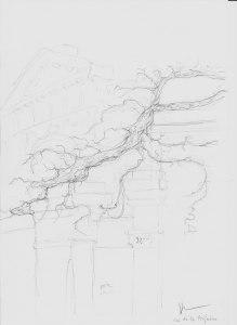 site dekoninckferey tours la vieille glycine crayon 30 x 21 cm