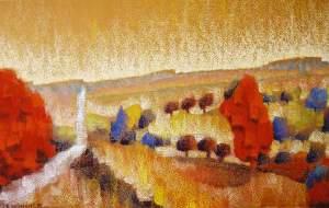 site dekoninckferey la route comme une source pastel cadre 40 x 70 cm