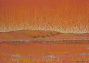 site dekoninckferey régneville pastel sec 30 x 40 cm