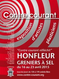site dekoninckferey Honfleur Contre courant 2015